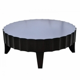 Seville Scalloped Round Coffee Table