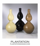 Shadow Glass Vases
