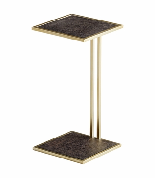 Shelly Shagreen Drink Table