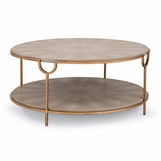"Sheridan ""Shagreen"" Coffee Table 