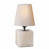 Sherri Cube Accent Lamp | Alabaster
