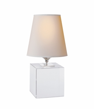 Sherri Cube Accent Lamp | Crystal