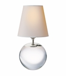 Sherri Large Accent Lamp | Crystal