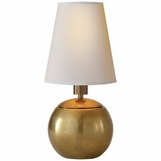 Sherri Mini Table Lamp | Brass
