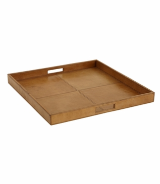 Siena Leather Tray