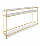 Sima Console Table | Brass