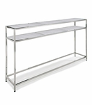 Sima Console Table | Nickel