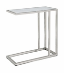 Sima Side Table | Nickel