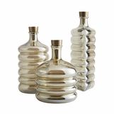 Simone Smoked Glass Decanters Set