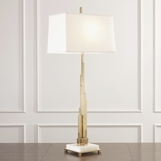 Skyline Table Lamp | Brass