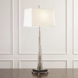 Skyline Table Lamp | Nickel