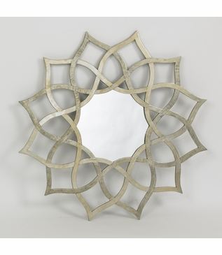 Snowflower Wall Mirror