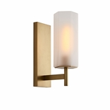 Soliz Sconce | Antique Brass