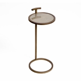 Sorkin Brass Drink Table