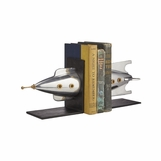 Spaceship Bookends