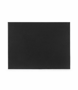 Spano Leather Desk Blotter | Black