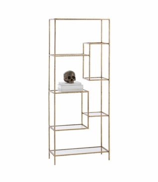 Springfield Shelf | Gold Leaf