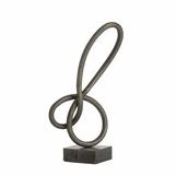 Squiggle Iron Sculpture | No. 1