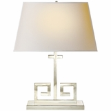 Stavros Table Lamp | Polished Nickel