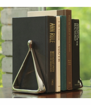 Steeplechase Nickel Bookends