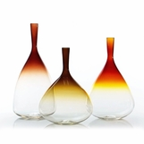 Stefano Glass Vases | Warm Colors