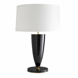 Stein Black & Brass Table Lamp