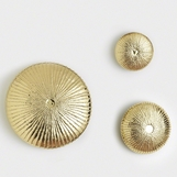 Stellan Wall Sculptures | Brass