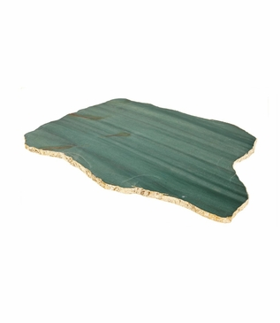 Stone Slab Trays | Green Quartz