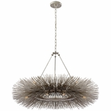 Strada Ring Chandelier | Burnished Silver