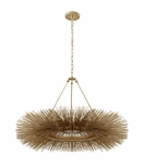 Strada Ring Chandelier | Gold