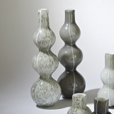 Stratus Glass Vases | Tall