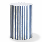 Stripato Bone Stool | Blue
