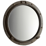 Submarine Iron Wall Mirror