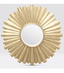 Surya Starburst Mirrors | Brass