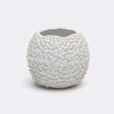 Suva Ceramic Vase | White