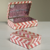 Suzanne Patterned Bone Boxes | Pink