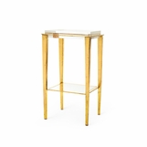 Sweetzer Side Table | Gold Leaf