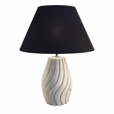 Taj White Marble Table Lamp