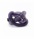 Tangled Glass Knot | Purple