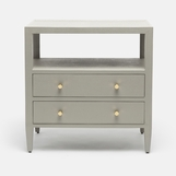 "Taron ""Linen"" Wide Side Table 