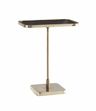 Taryn Brass Drink Table | Rectangle