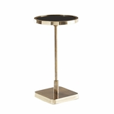 Taryn Brass Cocktail Table | Round