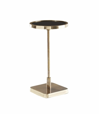 Taryn Brass Drink Table | Round