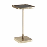 Taryn Brass Drink Table | Square