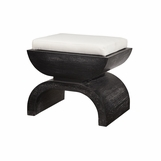 Terrence Bench | Cerused Black