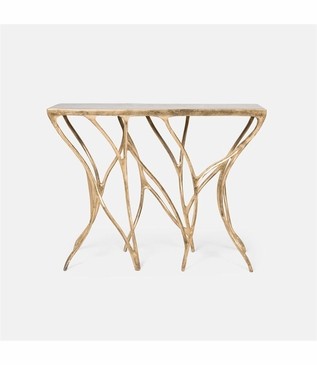 Thicket Console Table | Gold