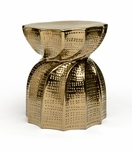 Tootsie Stool | Gold Crackle