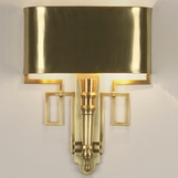 Torchiere Sconces | Antique Brass