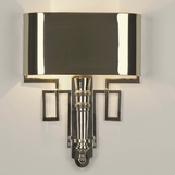Torchiere Sconces | Polished Nickel