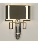 Torchiere Sconces   Polished Nickel